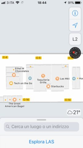 mappe di apple aeroporti 5