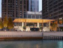 Apple dà spettacolo, il nuovo store Michigan Avenue di Chicago apre domani, le foto
