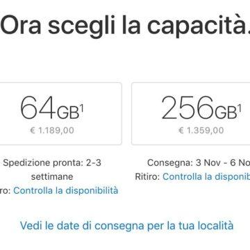 spedizioni iPhone X 2