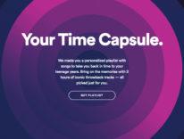 Spotify Your Time Capsule, una playlist nostalgica per tornare ventenni