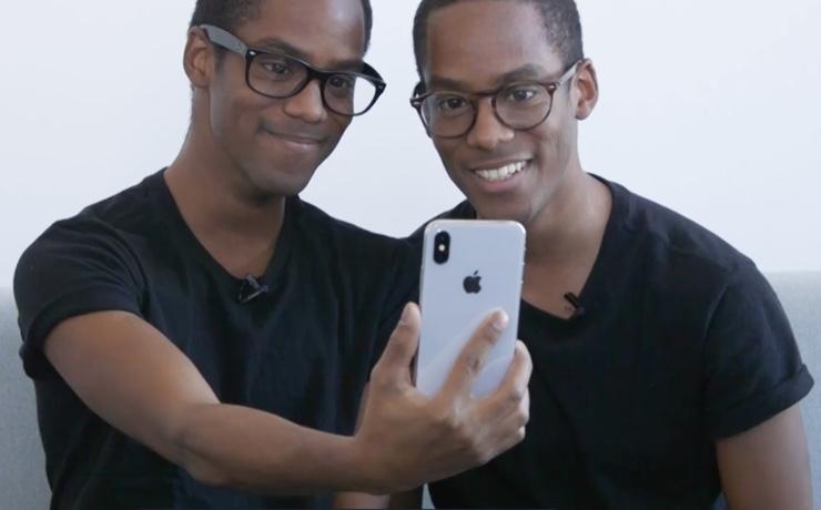 iphone x della mamma test gemelli face ID iPhone X