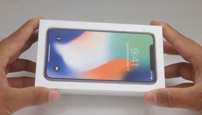unboxing iphone x 1