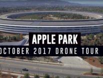 Video Apple Park, ora il centro visitatori è completo, arrivano i campi da gioco