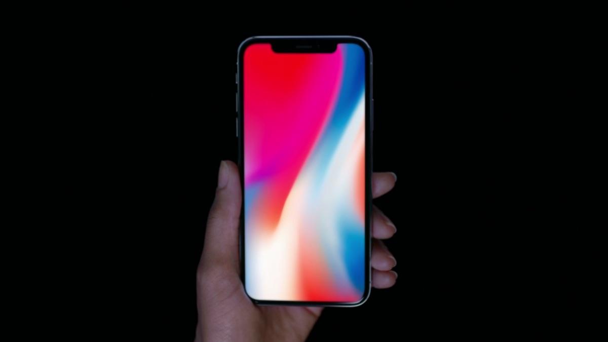 scattare foto schermo iphone x