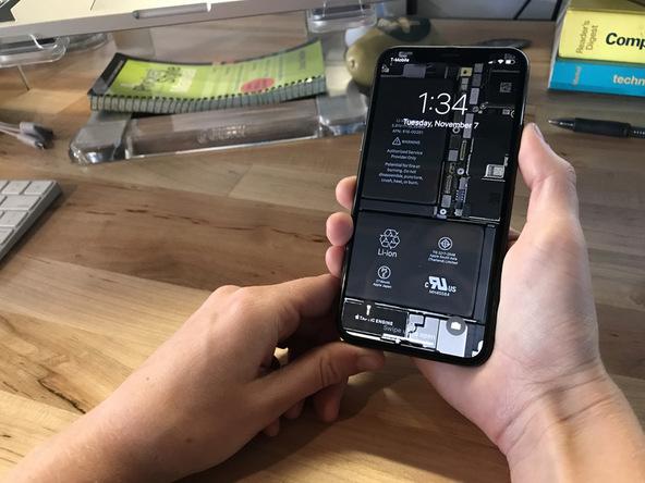 Lo sfondo iphone x ai raggi x mostra come fatto dentro for Ministerio de seguridad telefonos internos