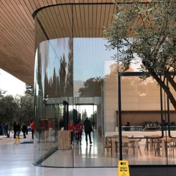 centro visitatori apple park