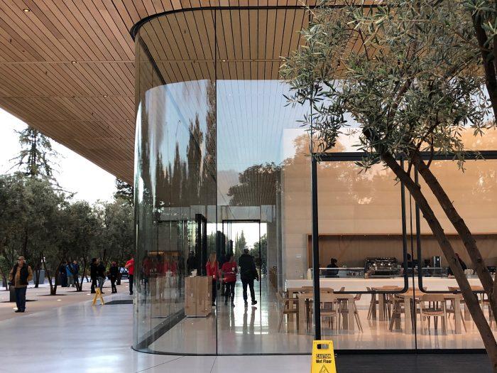 apple cupertino foto apple park centro visitatori apple park