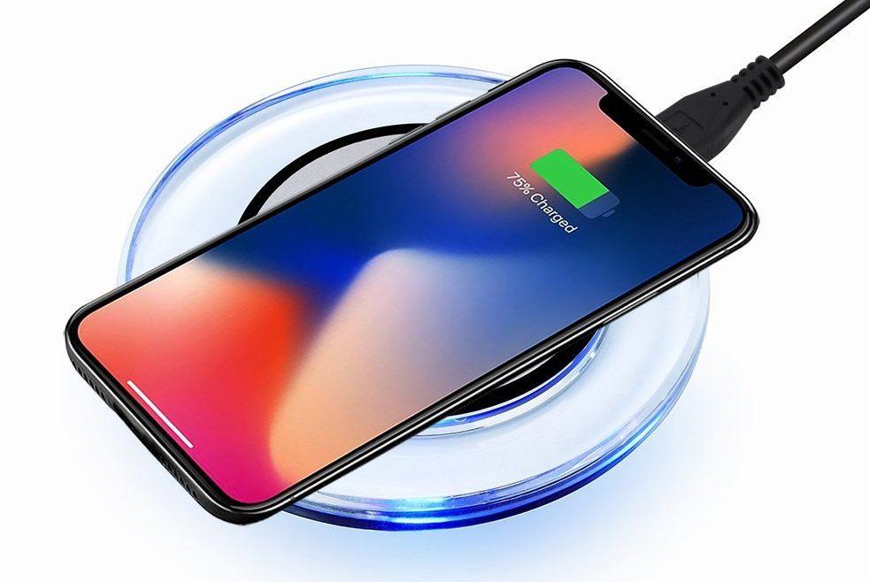 caricatori wireless iPhone