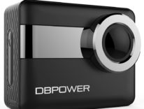 L'action camera 4K DBPOWER, con schermo 2,31 pollici touch, in sconto a 79,99 euro su Amazon