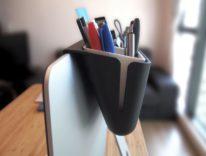 Mac Caddy: l'organizer iMac che sgombera la scrivania, e non solo
