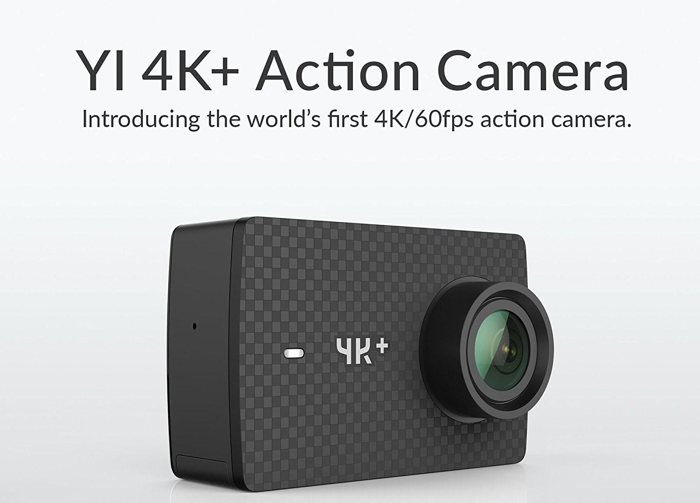 1e0f64625632c Yi Action Cam 4K e 4K+ in offerta su Amazon a partire da 129