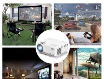DBPOWER T20, il proiettore per la casa da 1500 Lumen in offerta a 52,49 euro con codice sconto Macitynet
