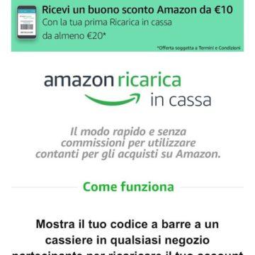 Amazon Ricarica in Cassa 2