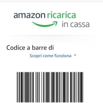 Amazon Ricarica in Cassa 4