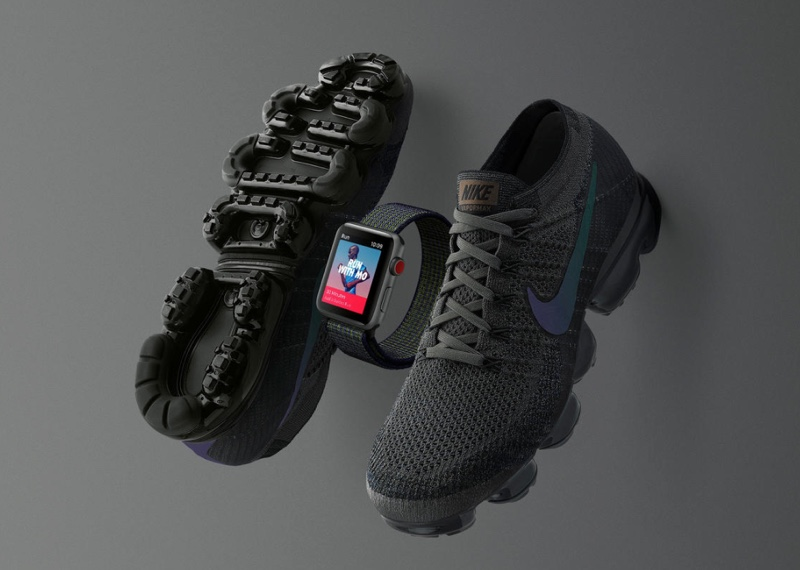 Apple Watch 3 Nike+ midnight fog