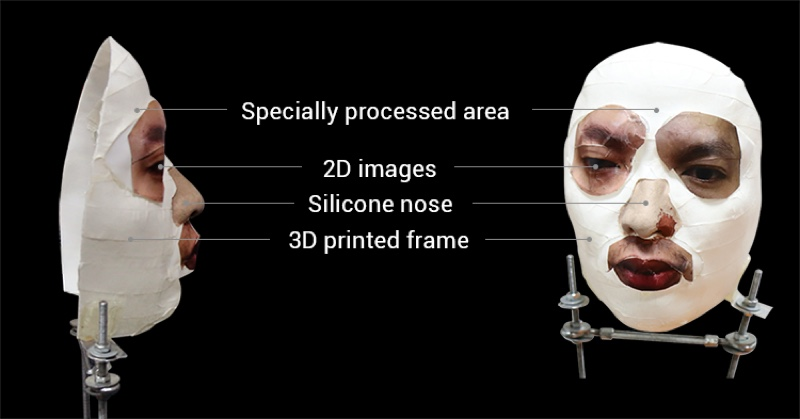 Face ID maschera