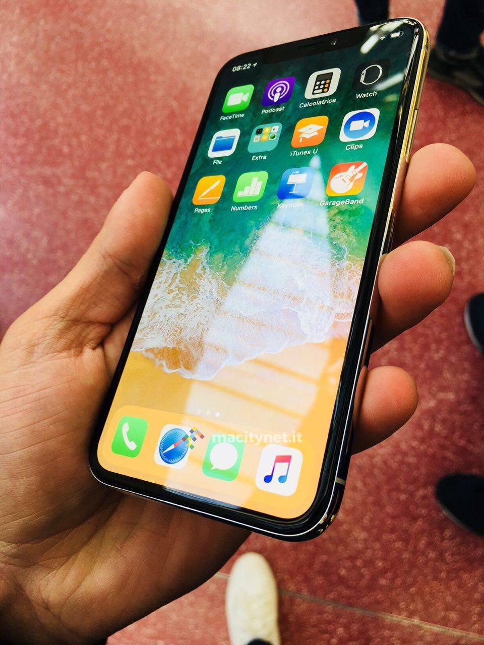 iphone x italia primi iphone x in ltalia