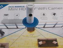 D-Link HD Mini DCS-8000LH, la videocamera minimalista che sorveglia la vostra casa