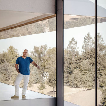 Jony Ive nell'Apple Park