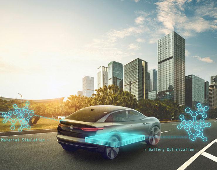 Volkswagen e Google studiano batterie altamente performanti per veicoli elettrici