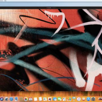 Esempio pittura in Pixelmator