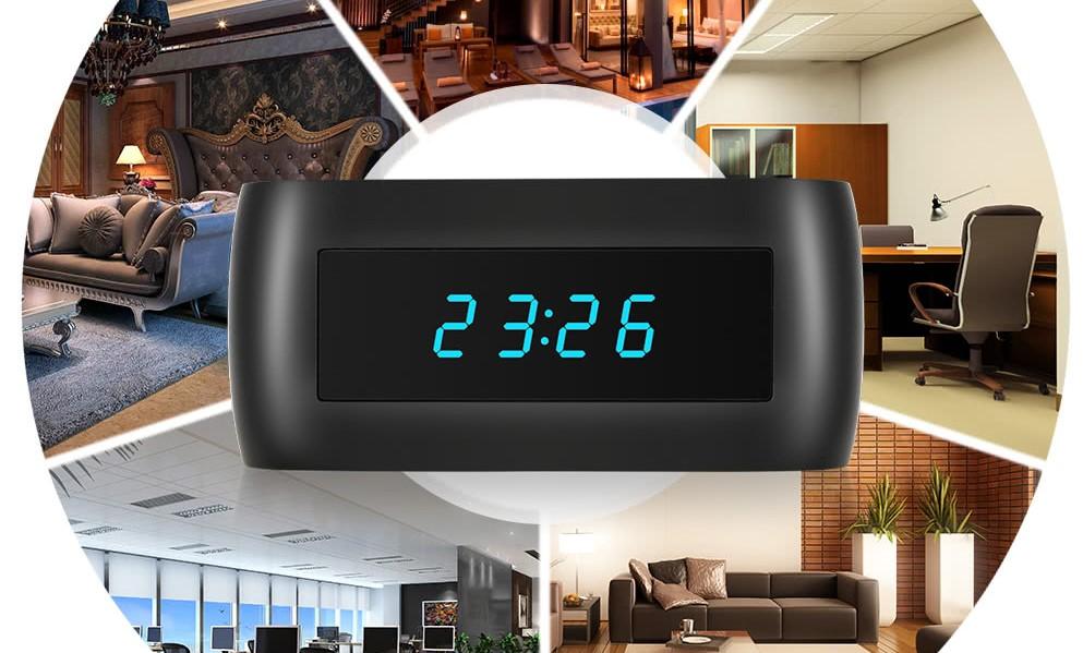 Telecamera Nascosta In Oggetti : Sconti su sveglia con videocamera nascosta e stampante per