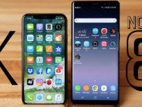 iPhone X vs Galaxy Note 8