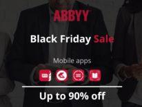 Settimana del Black Friday: app di ABBYY per la produttività in sconto fino al 90%