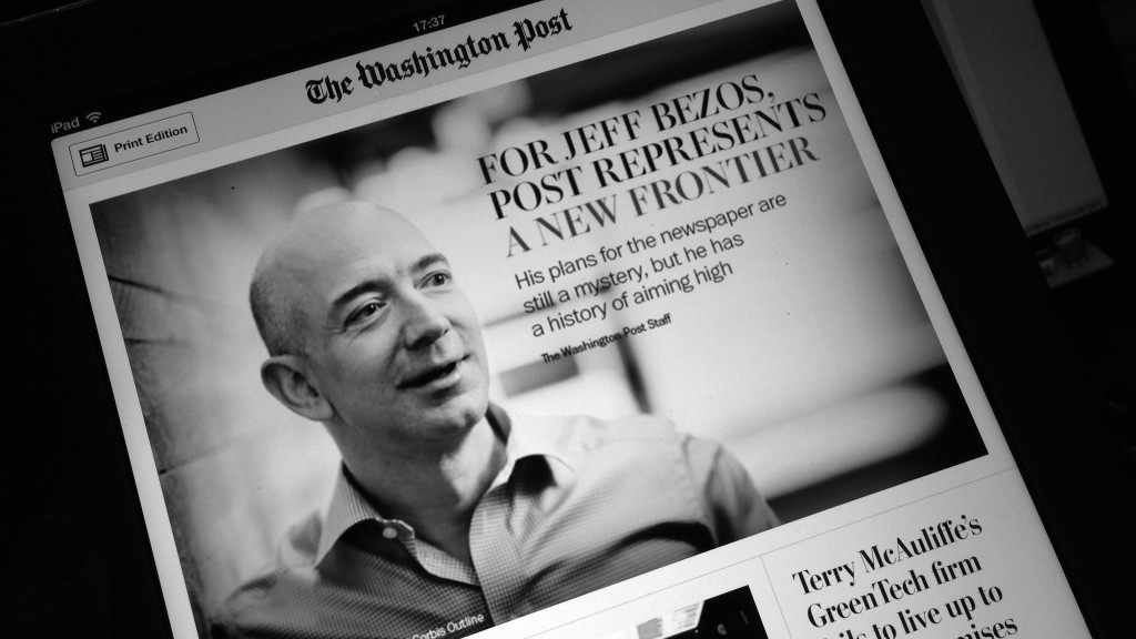 Il Washington Post di Jeff Bezos diventa una software house dad6e7fdf2b7