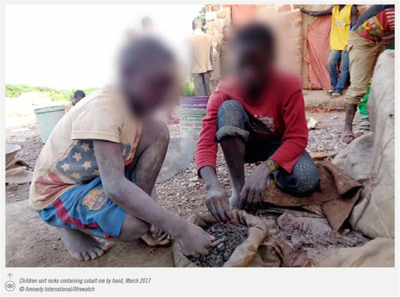 amnesty international lavoro minorile