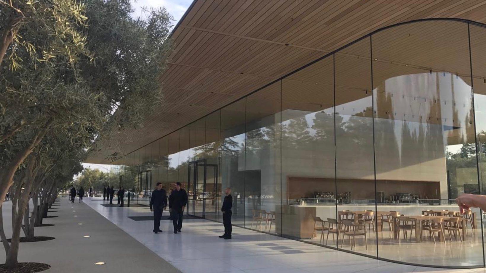 Apple Park, il Visitor Center
