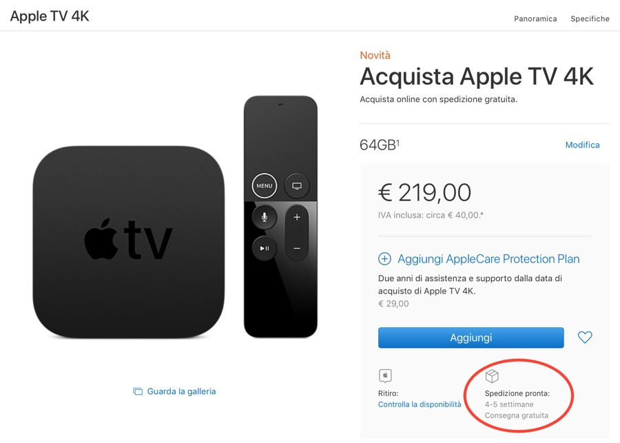 apple tv 4k 64gb no 1