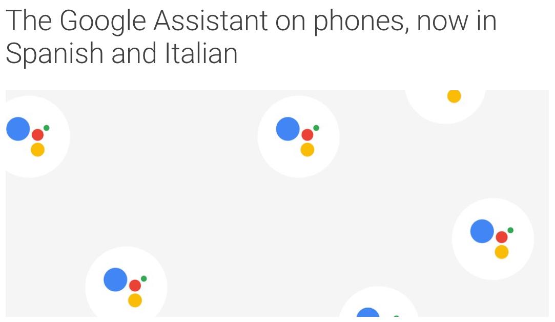 l 39 assistente google in italiano entro l 39 anno anche su iphone