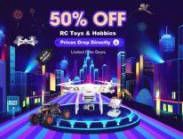 Droni e giocattoli a metà prezzo: è il Black Friday di TomTop