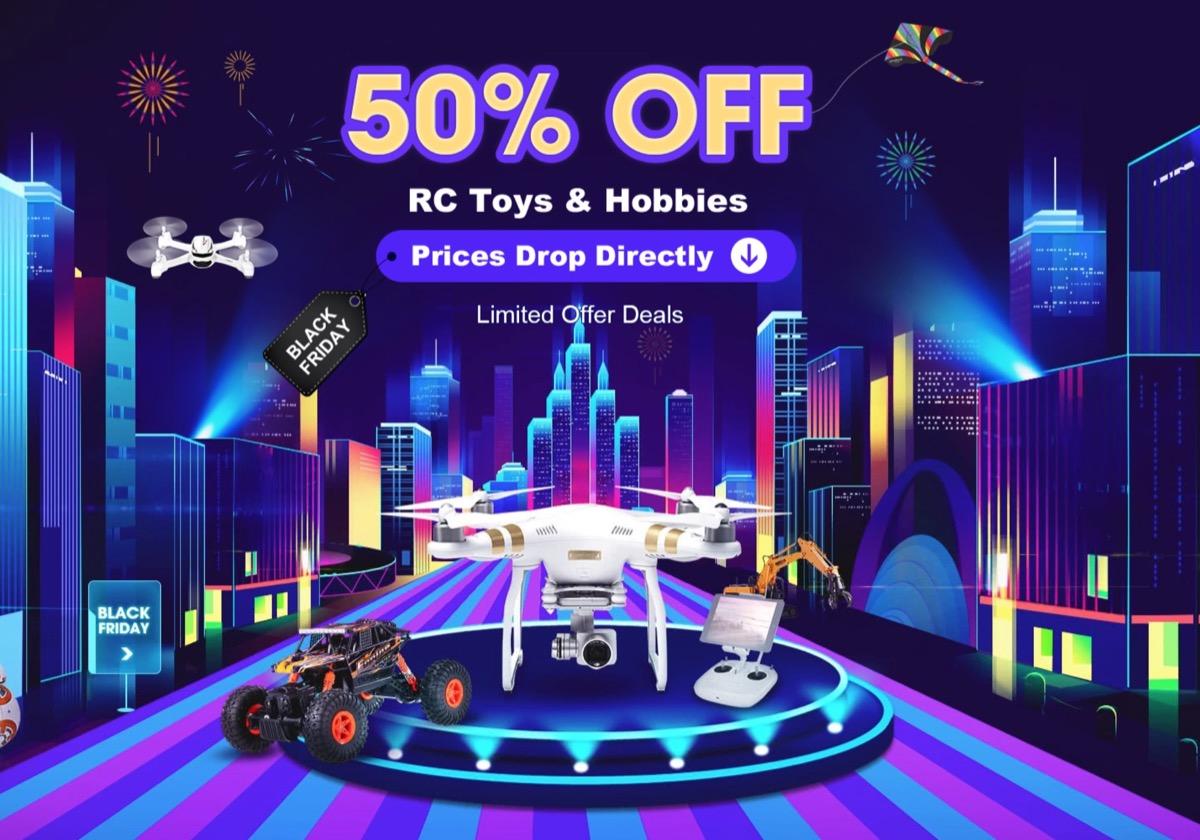 9c95717c531bf2 Al Black Friday di TomTop tutti i droni e i giocattoli costeranno la metà.