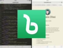 Scrivere codice: Recensione Buffer editor per iOS