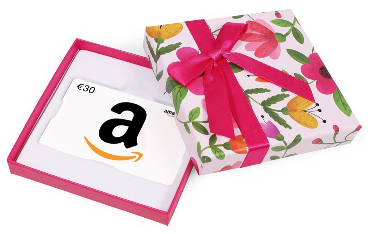 Solo oggi amazon regala buoni sconto ne compri uno da 30 for Promozione buono regalo amazon