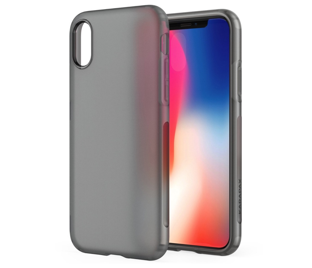 custodia iphone x pellicola