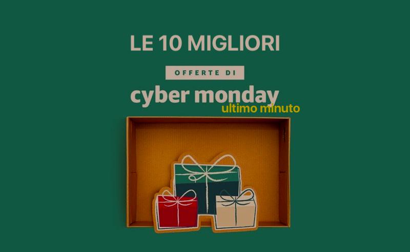 8a84ea7c5433af Le dieci migliori offerte del Cyber Monday 2017 ultimo minuto