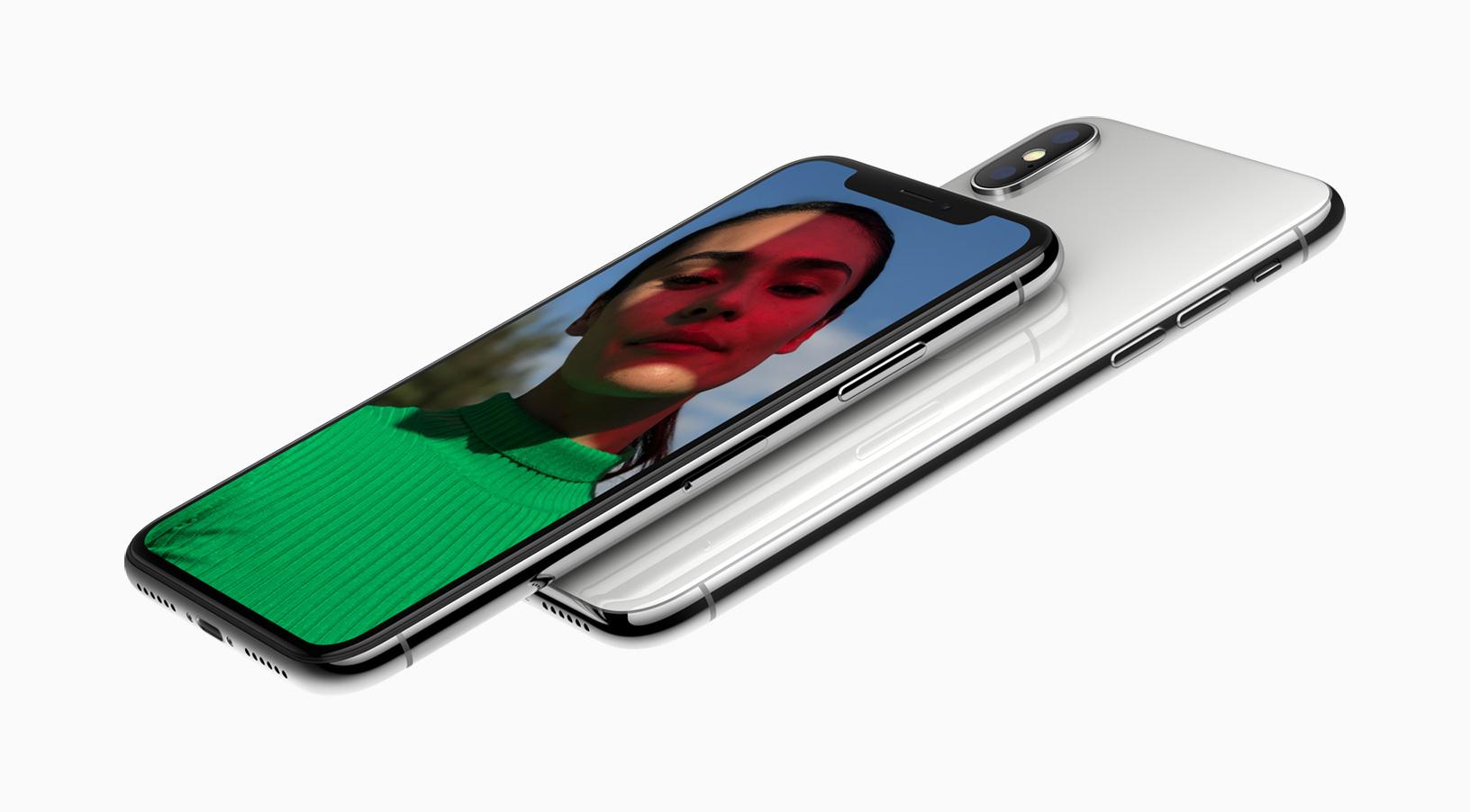 Schermo di iPhone X difettoso
