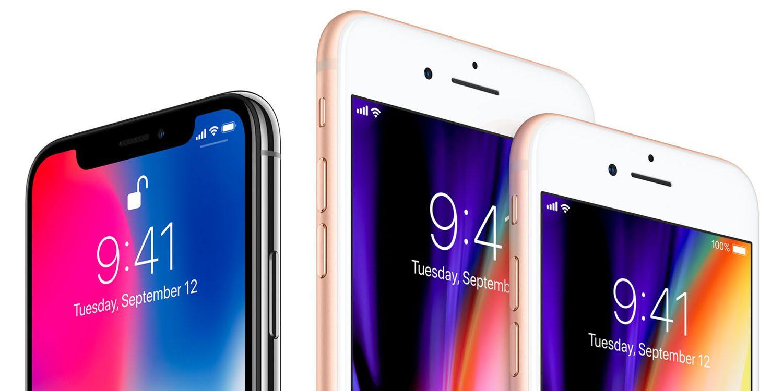 smartphone premium - foto iPhone 8 e iPhone X