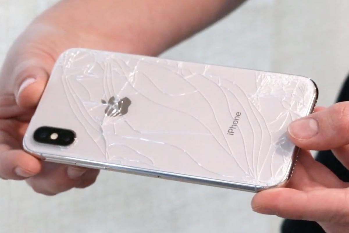 iphone x fragile
