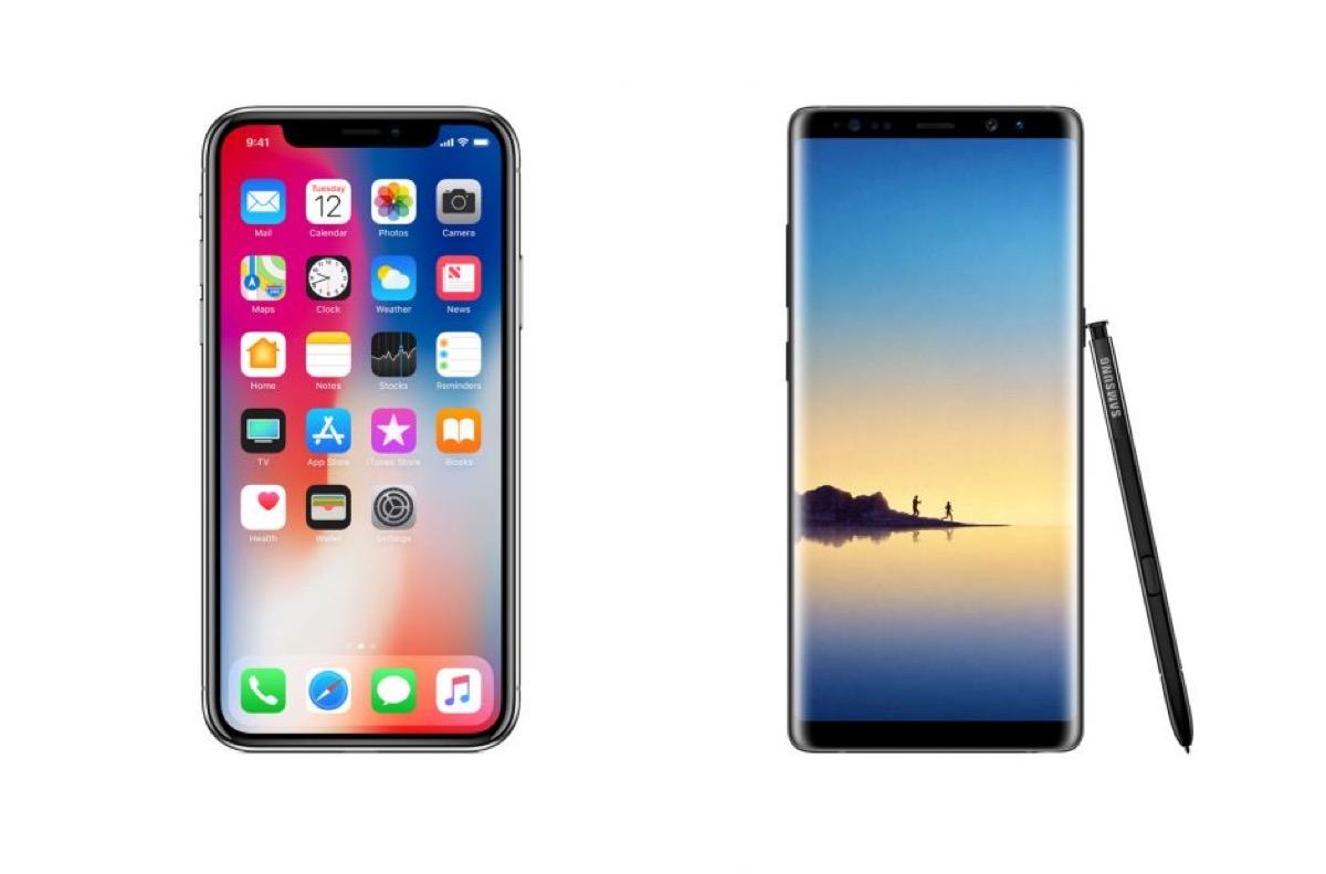 sondaggio iphone samsung