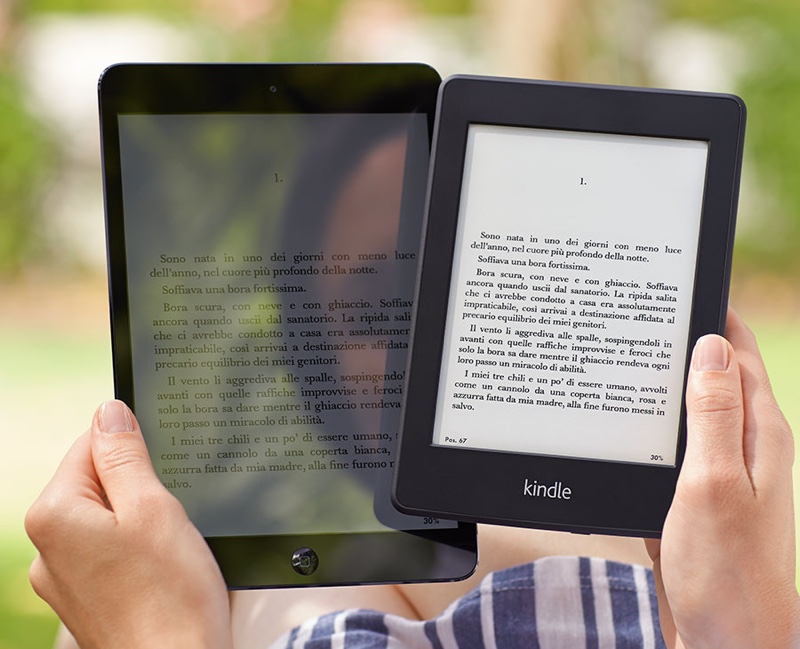 kindle perwhite ipad mini