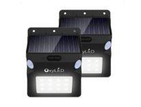 Lampada LED per esterni, con sensori e impermeabile: sconto soli 12,99 euro