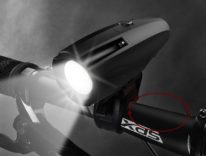luce bicicletta frontale