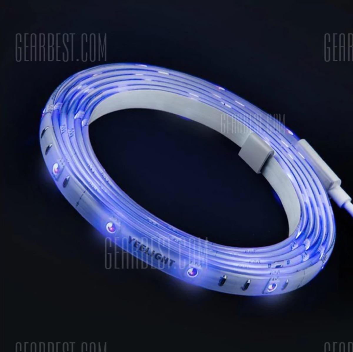 luci led adesive xiaomi controllabili tramite smartphone