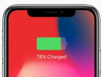 Come visualizzare la percentuale della batteria di iPhone X