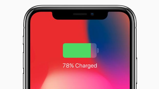 percentuale batteria iphone x