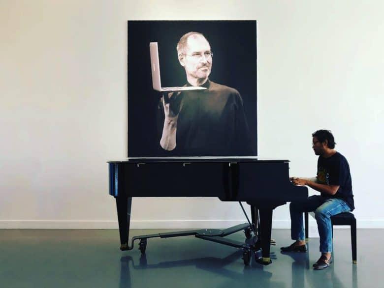 Il pianoforte che Steve Jobs regalò al team di sviluppo del primo Mac